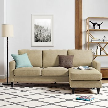 Dorel Living Kaci Sectional | Hayneedle
