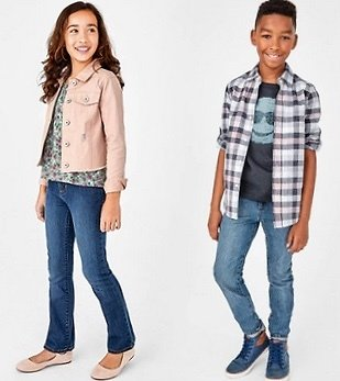 The Children's Place :All Basic Denim's $7.80 + Ships Free