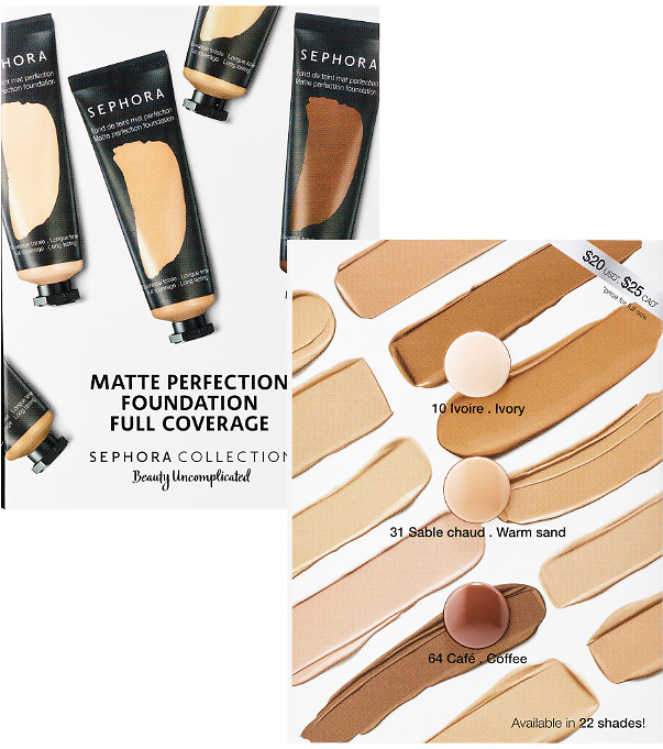 FREE Sample of Sephora Collection Foundation