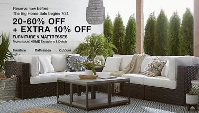 20-60% + Extra 10% Off Furniture & Mattress Sale - Macy's