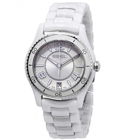 Ebel X-1 Ceramic and Steel Ladies Watch (F/S)