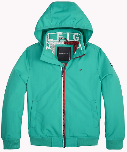 Now 53% Off - Tommy Hilfiger TH Kids Hooded Jacket