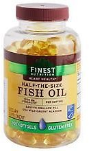 Finest Nutrition Half-the-Size Fish Oil 1200 Mg Softgels