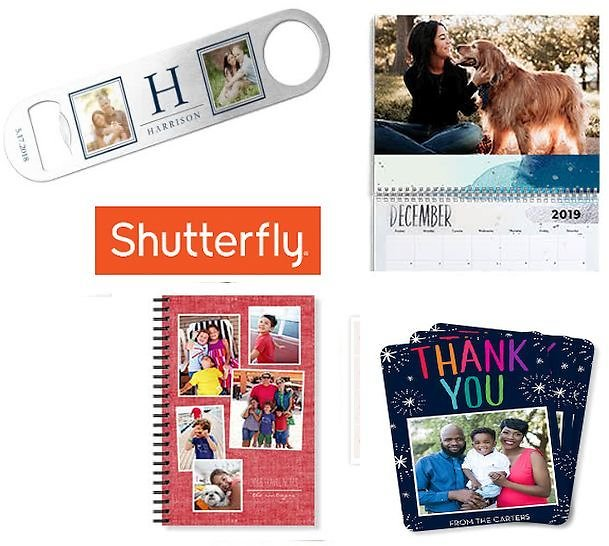 Up to 4 FREE Gifts: Bottle Opener, 8x10 Wall Calendar, 5x7 Notebook, 12 Thank You Cards | Shutterfly