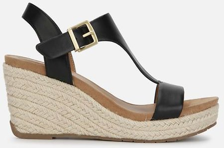 Kenneth Cole Card Ankle Strap Espadrille Wedges - 2 Colors