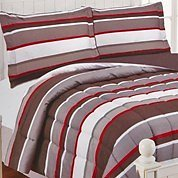 Brett Stripe 2-Piece Twin Comforter Set