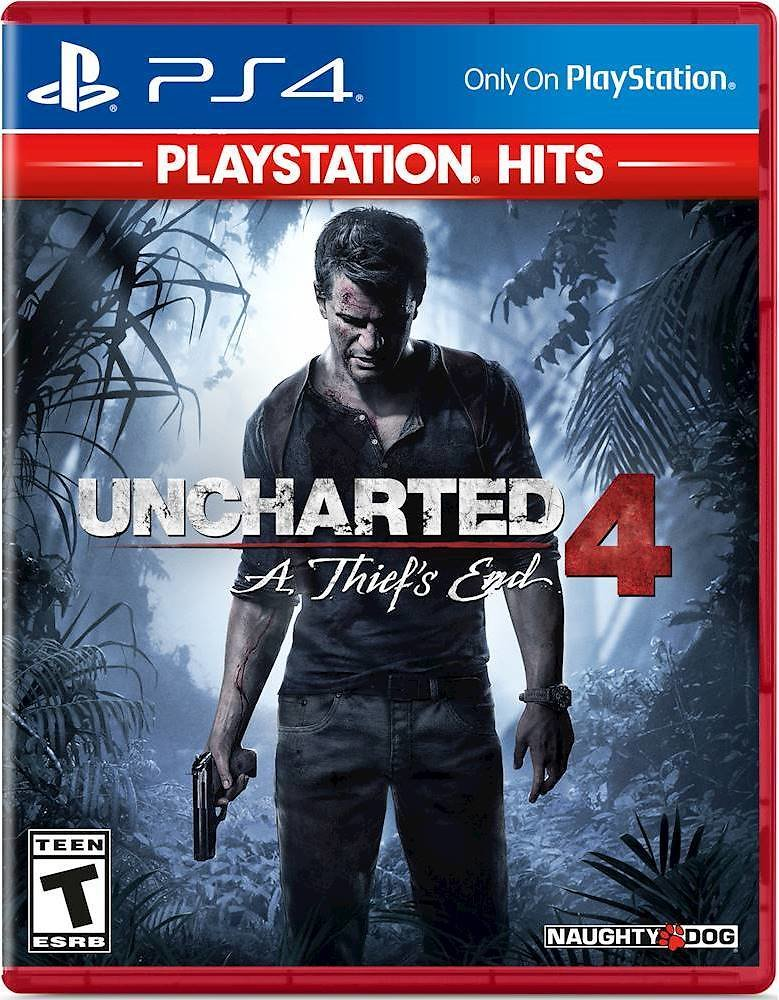 Uncharted 4: A Thief's End PlayStation 4 2943094