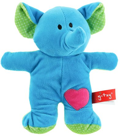 Now 46% Off - Polkadoozles Plush Rattle, Elephant