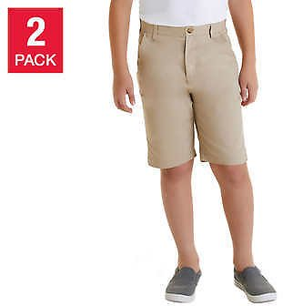 (Ships Free) 2-Pack French Toast Boys' School Uniform Shorts