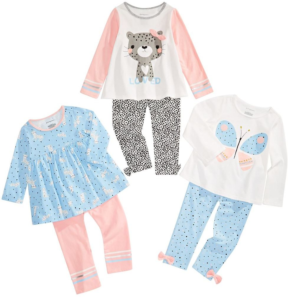First Impressions Toddler Girls Animal Print Mix & Match Separates