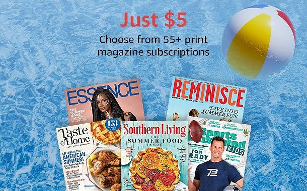 $5 Magazines Subscriptions - Amazon