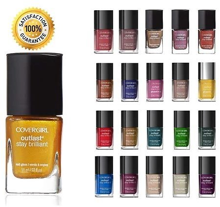 Alphabet Deal | 5 Piece Assorted Set CoverGirl Outlast Stay | Price : $10.99
