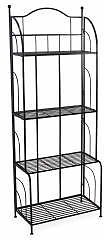 Wilson & Fisher Black 4-Tier Bakers Rack Plant Stand - Big Lots