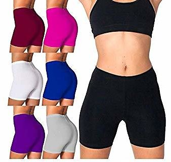 Womens Safety Pants Comfortable Yoga Shorts Stretch Elastic Waist Underwear Wearing Supplies 1PC