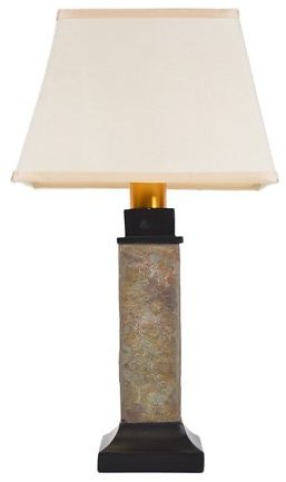 Torch Light ST913B Wireless All-Weather Table Lamp, Natural Slate