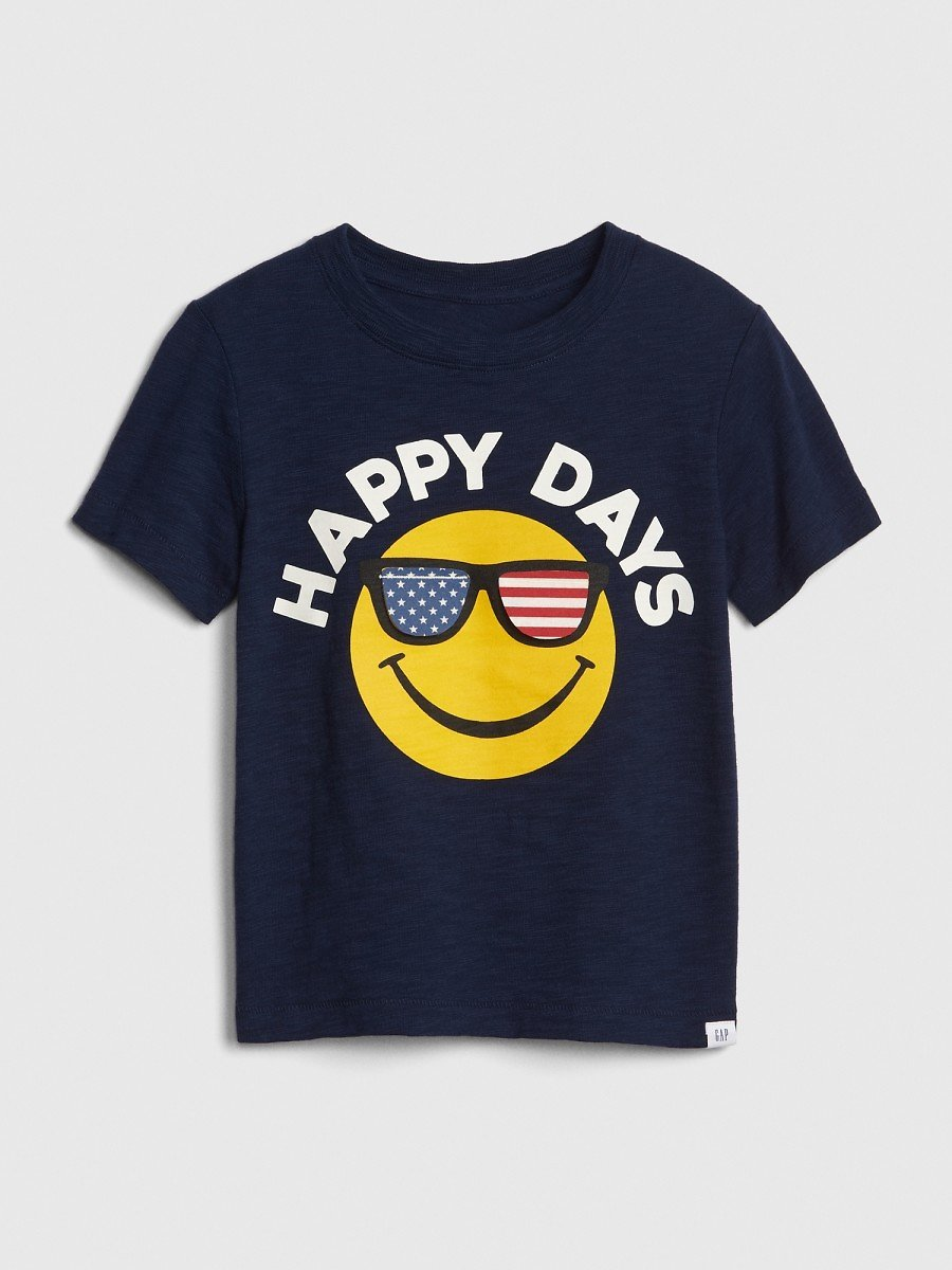 Toddler Happy Days Graphic Short Sleeve T-Shirt