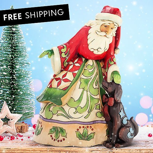 Up to 40% off Jim Shore Santa with Puppy Figurine