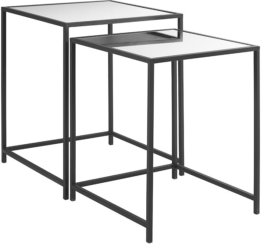 Better Homes & Gardens Reese Nesting Accent Tables, Black