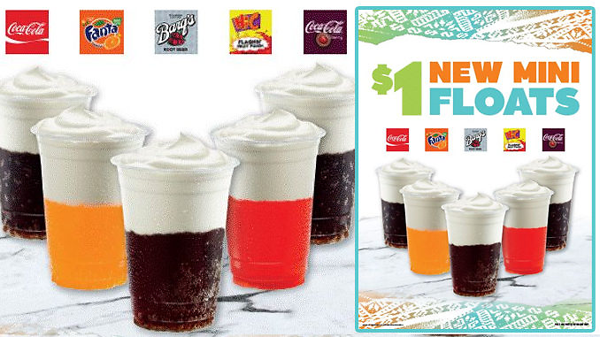 Del Taco Whips Up New $1 Mini Floats
