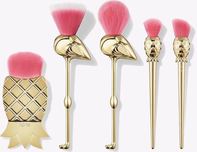 Tarte Let's Flamingle 5pc Brush Set