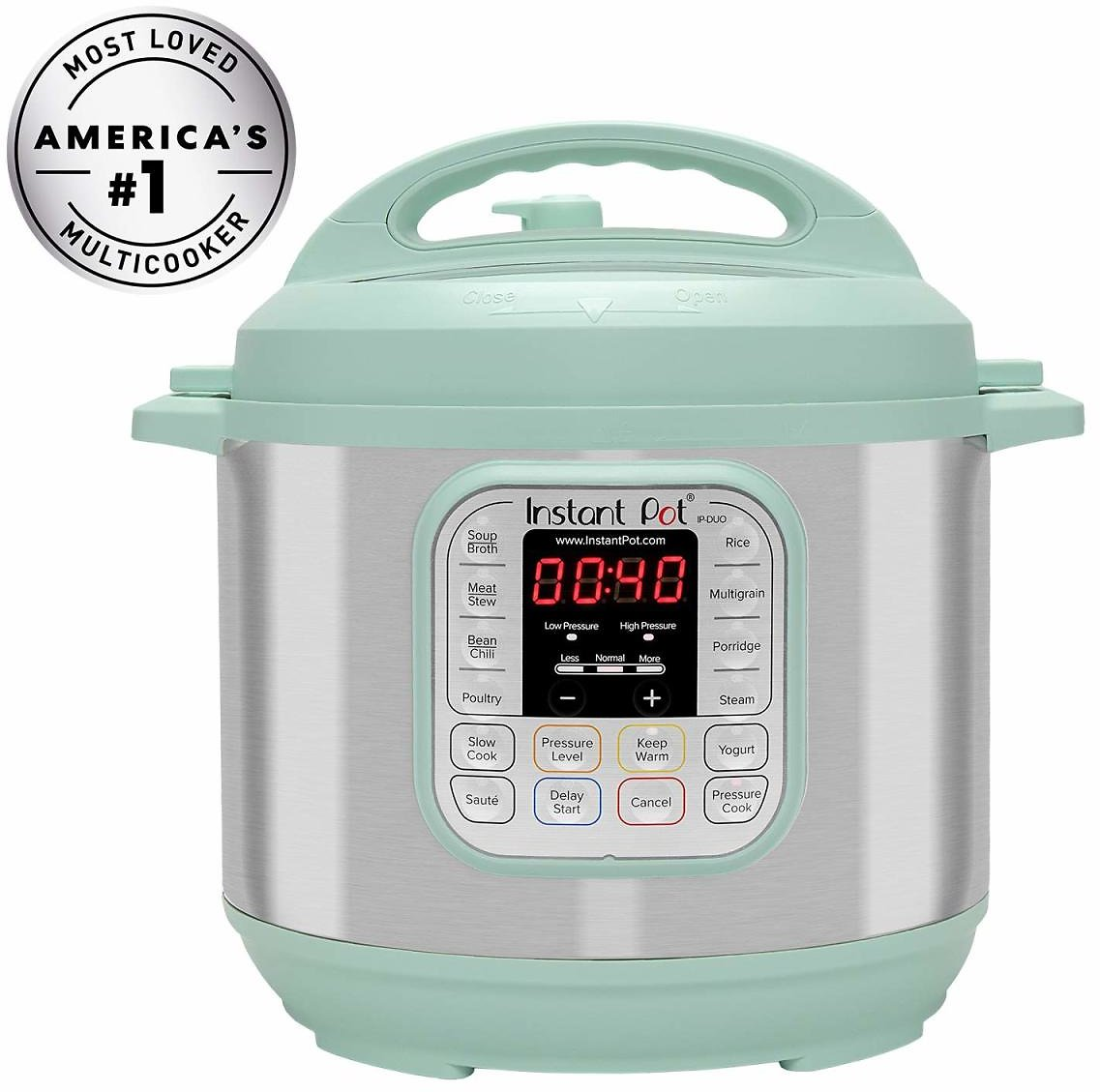 Instant Pot 6Qt. Duo 60 7-in-1 Multi-Use Programmable Pressure Cooker - 3 Colors