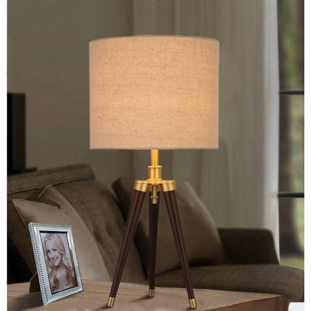 Better Homes and Gardens Tripod Table Lamp, Easy On/Off Switch