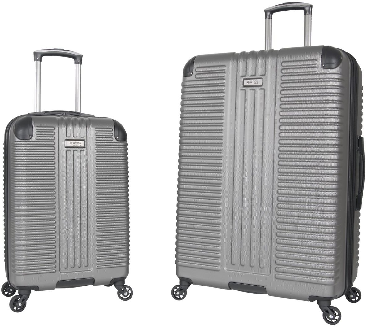 25% OFF Kenneth Cole Reaction 2-Pc. Hardside Luggage Set - Silver
