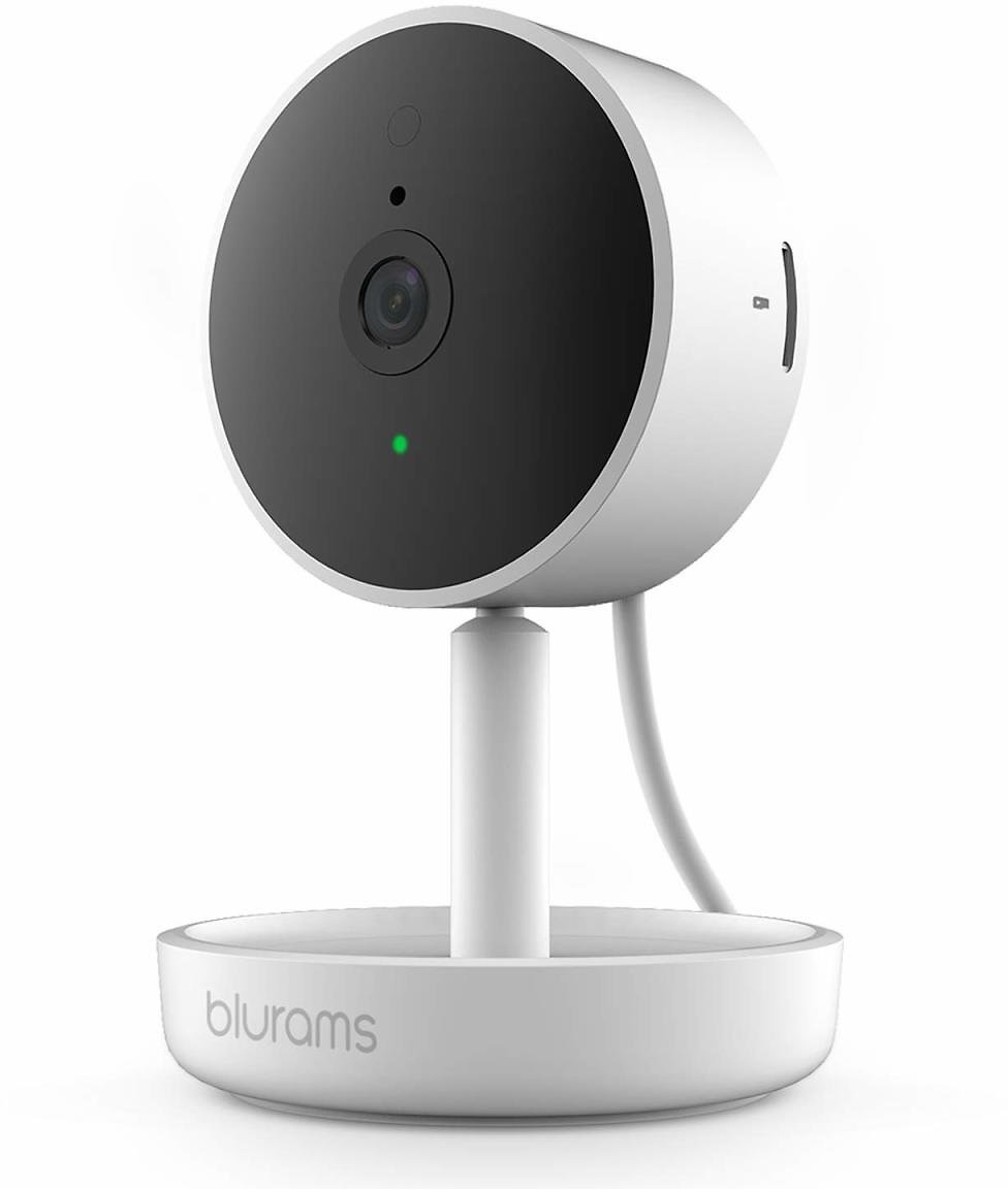 blurams Home Pro, Security Camera 1080p FHD | w/ Facial Recognition, 2-Way Talk, Siren, Human/Sound Detection, Smart Alerts, Pri