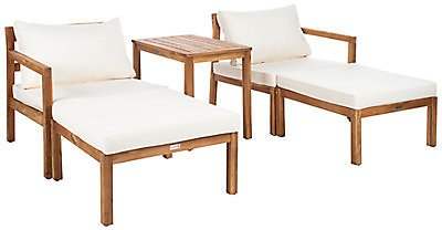 Safavieh Pratia 5pc Outdoor Set