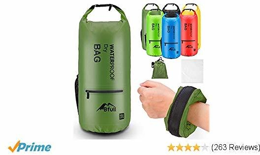 BFULL Waterproof Dry Bag 10L/20L from $5