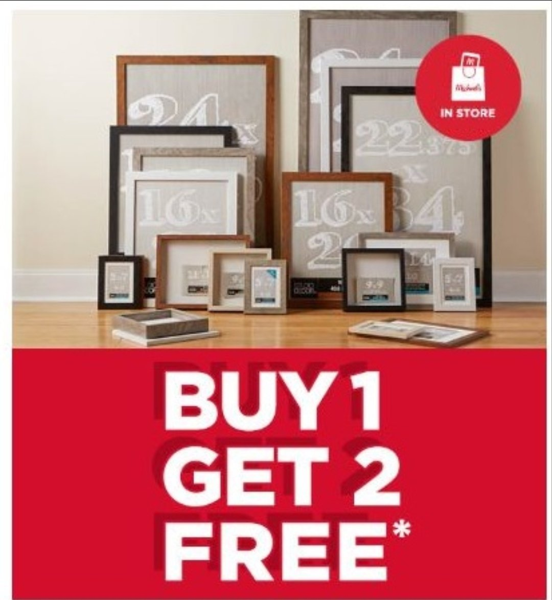 Buy One, Get Two FREE Belmont Wall Frames & Shadow Boxes | Michaels