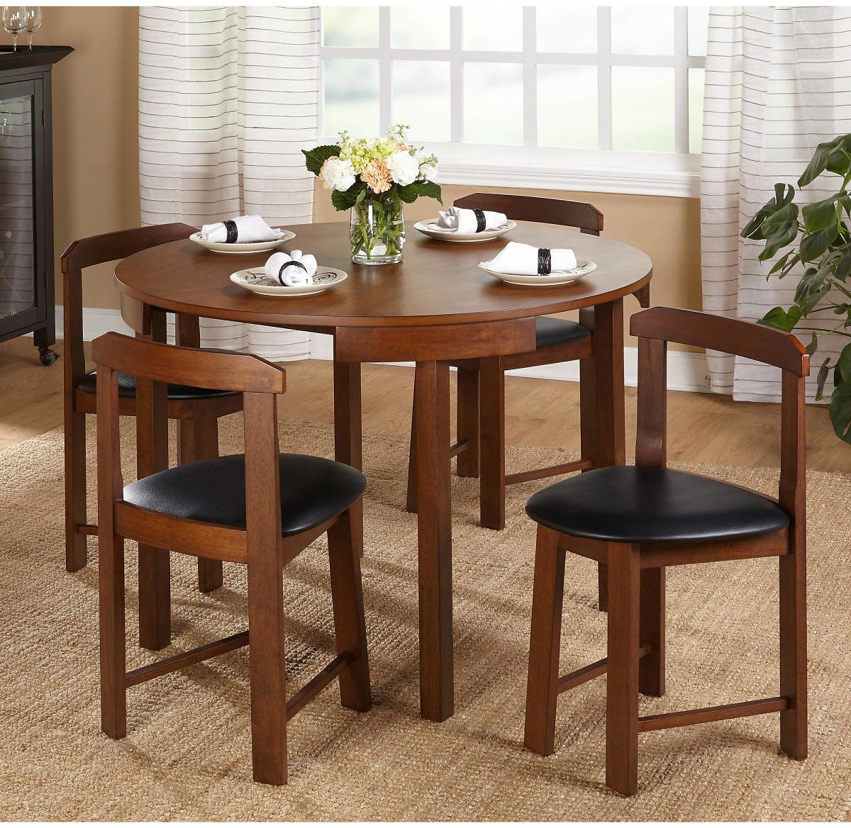 TMS Gino 5 Piece Dining Set, 2 Colors