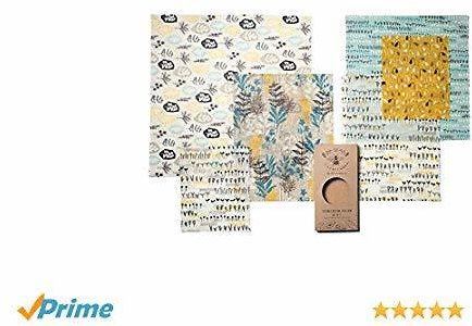 Beeswax Wrap Reusable Food Wraps By Lilybee