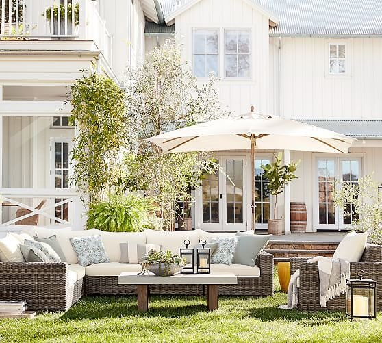 Up to 70% Off Pottery Barn All Outdoor Sale + Free Ship