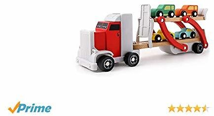 Top Bright Wooden Truck Toy
