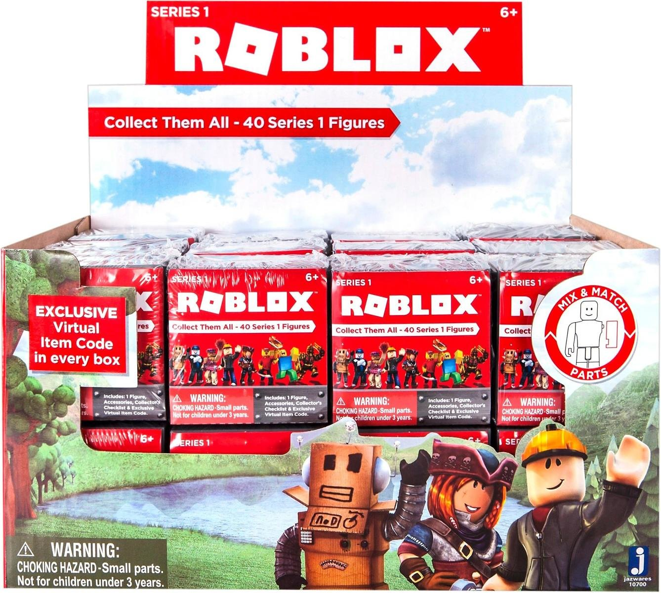 Roblox Series 1 Mystery Figure Styles May Vary 10700