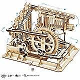 ROKR 3D Wooden Puzzle-Self Propelled Mechanical Model-DIY Building Kits-Brain Teaser Games-Best Gift for Boyfriend or Girlfriend On Birthday/Anniversary/Valentine's Day/Christmas(Locomotive): Toys & Games