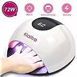 Nail Dryer LUCKYFINE 36W Pro Nail Gel Dryer Machine Lamp UV Curing Polish Light Art LED Manicure Tool Rose Red Approx 213310cm(LWH) : Beauty