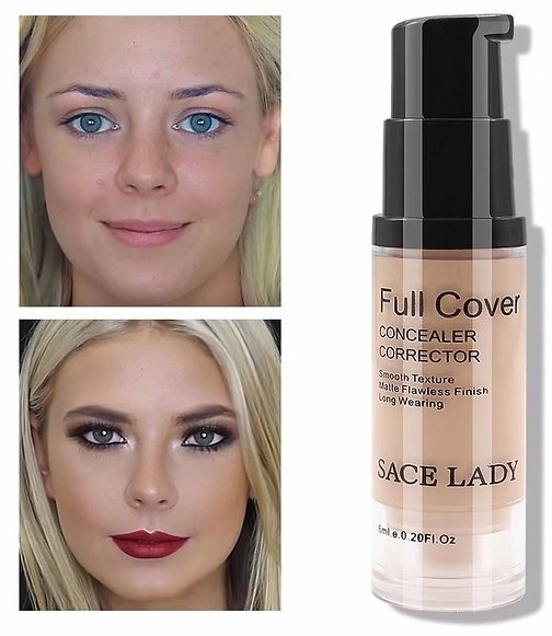 $10 OFF ACE LADY Little Liquid Concealer (6ml/0.2 Oz ) Cover Smooth Lightweight Flawless Makeup