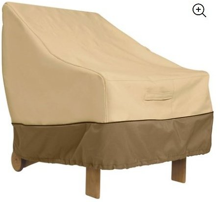 Classic Accessories Veranda™ Patio Lounge Chair Cover - Water Resistant Outdoor Furniture Cover, 38