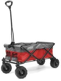 Creative Outdoor All-Terrain Folding Sport Compact Wagon (2-Tone Various Colors) - Sam's Club