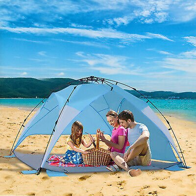 (Ships Free) Portable Automatic Pop Up Kids Beach Tents Camping Outdoor UV Protection Shade