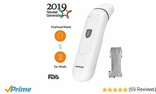 【Upgraded】Caroune Forehead and Ear Thermometer $17.99
