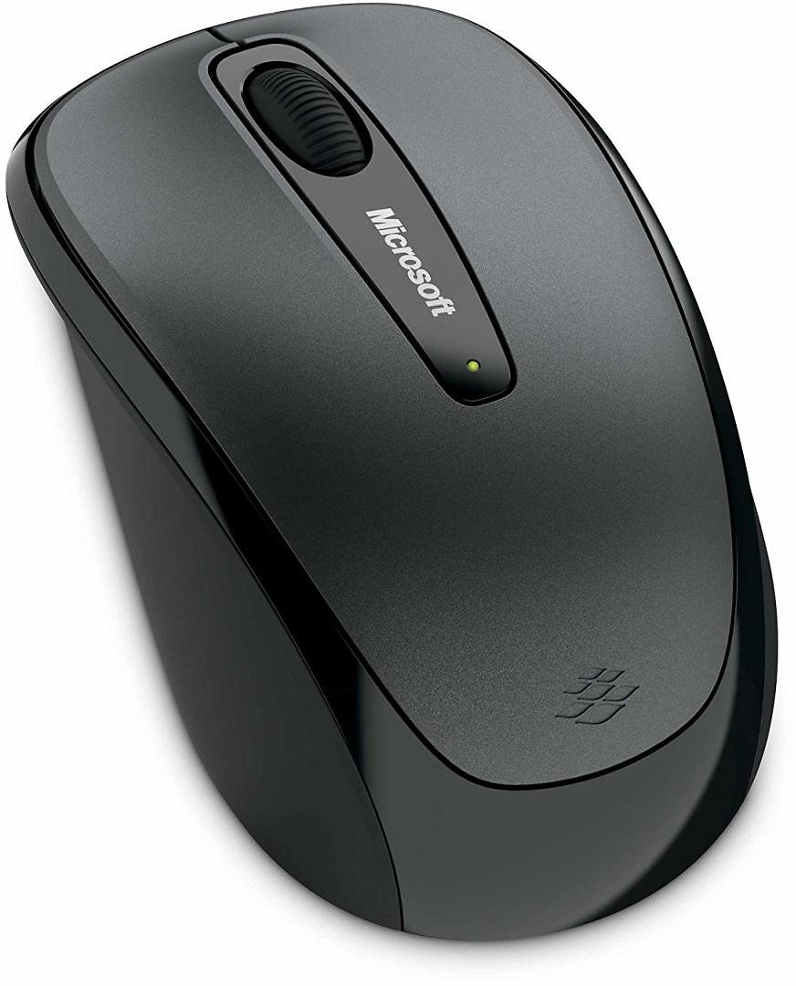 Microsoft Wireless Mobile Mouse 3500 - Loch Ness Gray / Black
