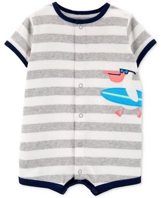 Carter's Baby Boys Striped Bird Cotton Romper & Reviews - All Baby - Kids