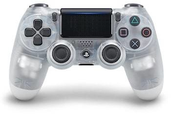 Sony DualShock 4 Wireless Controller for Sony PlayStation 4 - Crystal