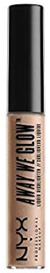 NYX Professional Makeup Away We Glow Liquid Highlighter, Moon Beam, 0.22 Fluid Ounce