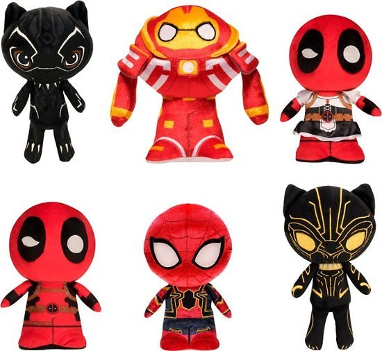Funko Marvel Character Plush Styles May Vary 36843