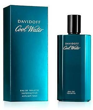 Cool Water Cologne By Davidoff, 4.2 Oz EDT Spray for Men