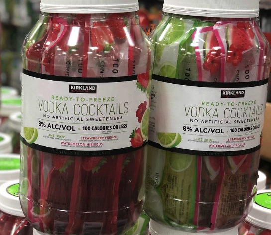 Kirkland Ready-to-Freeze Vodka Cocktails (In-Store)